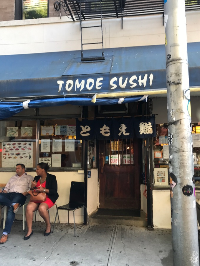Table for One: Tomoe Sushi