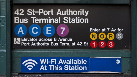 A Summer Trek to the Port Authority